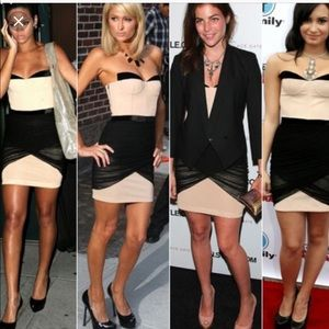 Alexander Wang Fitted Corset Mini Dress Size 4